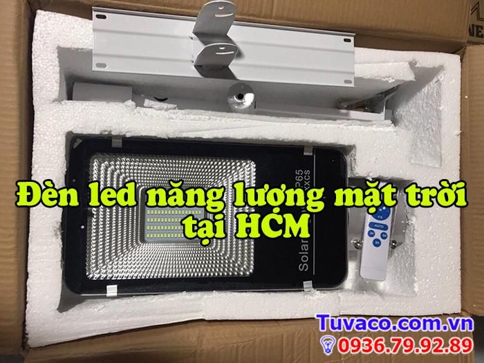 Đèn led năng lượng mặt trời tại HCM