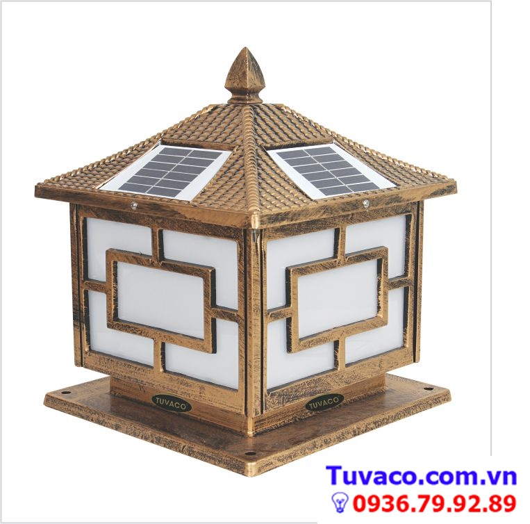 đèn trụ năng lượng mặt trời trụ cổng TSG 3001