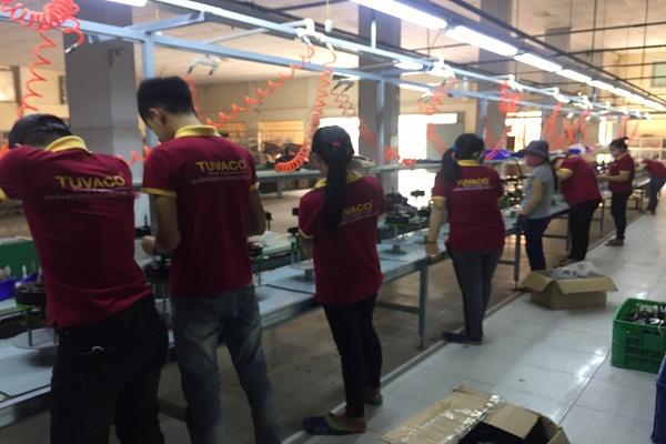 nhà máy sản xuất quạt trần trang trí