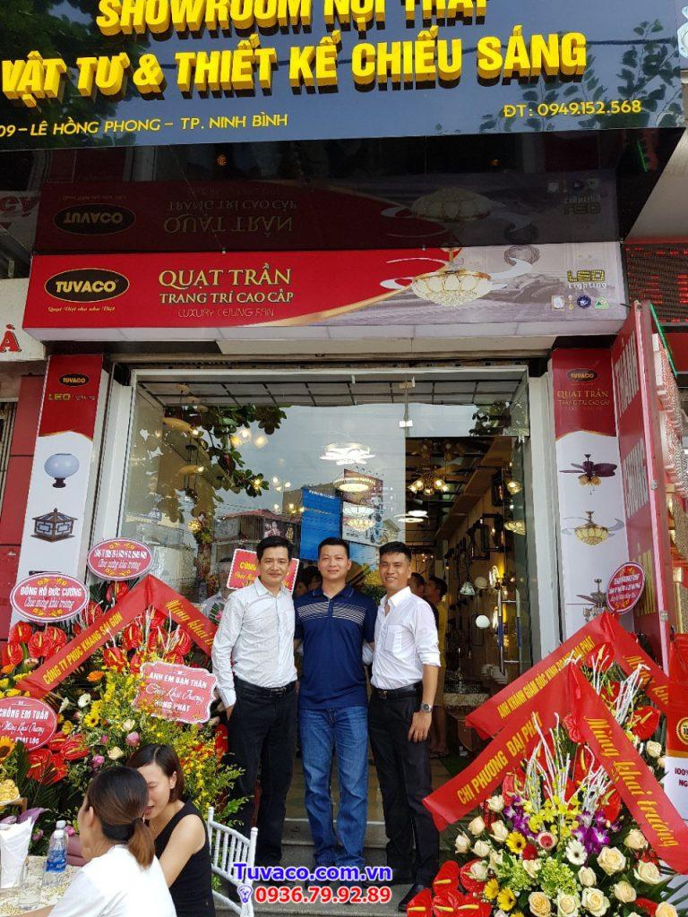 Nhà phân phối đèn led Tuvaco tại Ninh Bình
