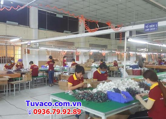 Xưởng sản xuất đèn led Tuvaco