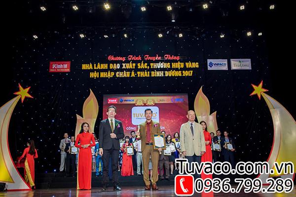 Vinh danh thương hiệu đèn led Tuvaco