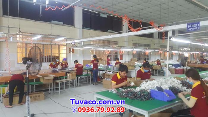 Xưởng sản xuất của Tuvaco