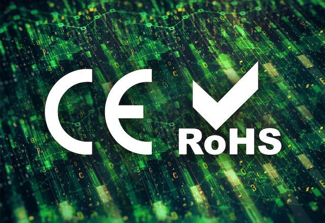 chứng chỉ CE và RoHS
