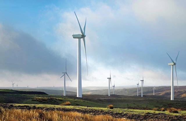 năng lượng gió tái tạo