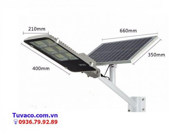 đèn đường năng lượng mặt trời 300w