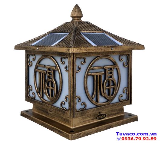 Đèn Trụ Cổng Năng Lượng Mặt Trời TSG3002v