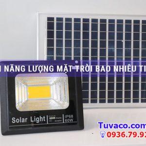 Đèn năng lượng mặt trời bao nhiêu tiền