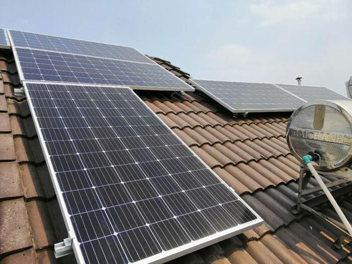 Lắp đặt điện mặt trời áp mái tại các tỉnh miền Tây
