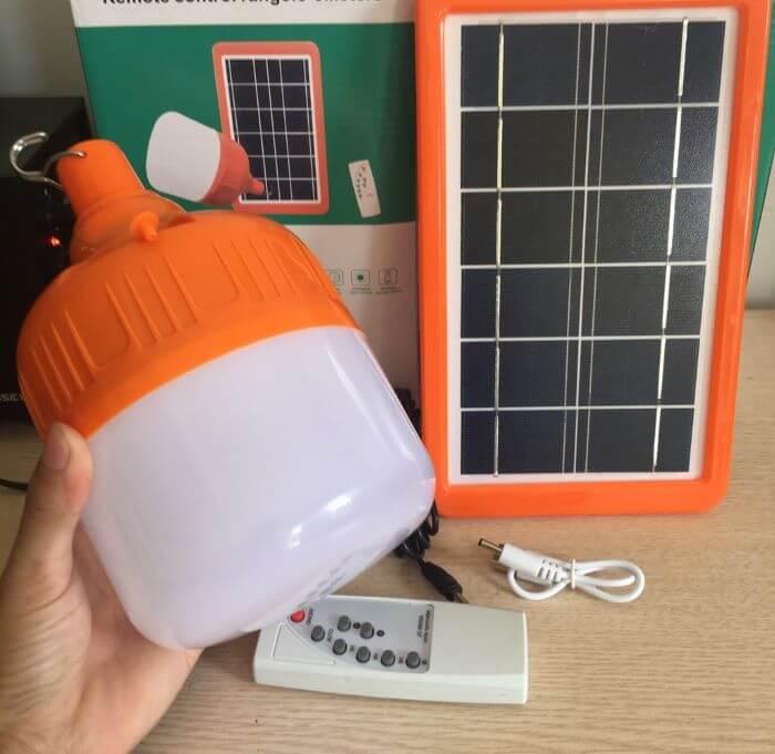Đèn búp trụ năng lượng mặt trời Tuvaco